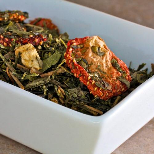 Mrs Oldbucks Pantry Emerald Sunset Tea