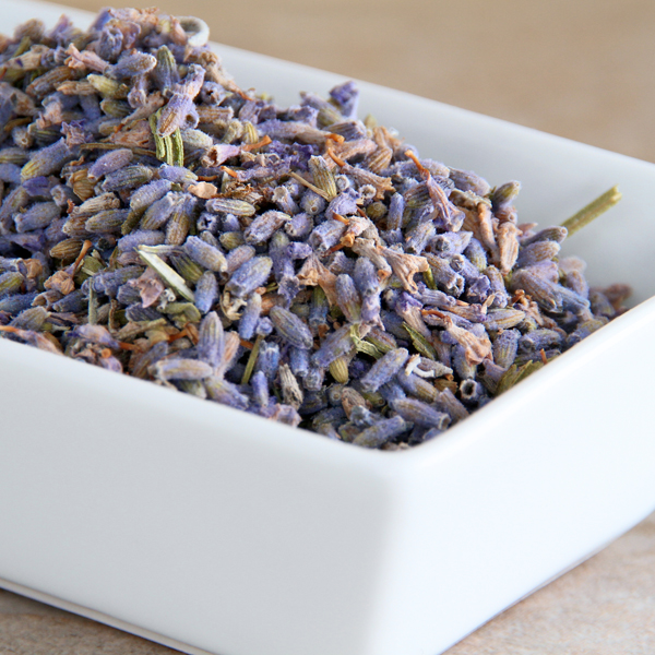 Mrs Oldbucks Pantry Lavender Flowers - Super Blue