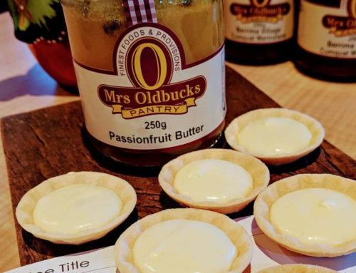 Mrs Oldbucks Passionfruit Mousse