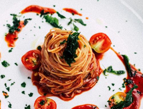 Chilli Tomato Chutney Spaghetti