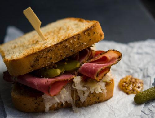 Ham Mustard Toastie