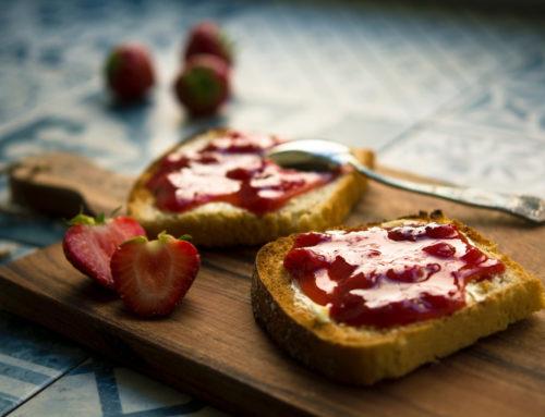 Strawberry Jam on Toast